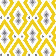 Jonathan Adler Wallpaper Syrie Yellow
