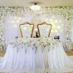 Girls Dresses, Flower Girl Dresses, Backdrops, Chandelier, Ceiling Lights, Wedding Dresses, Flowers, Party, Wedding Ideas
