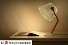 Get yours @thelightingstudious ・・・ Ziggy is a fun and alluring 2D light by Tel-Aviv based Studio Cheha. Laser engraved clear acrylic glass and hidden LED elements deceive the eye into thinking that there is a shade.  Exercise your parietal lobe and save space with this truly unique design  Get yours @thelightingstudious  #doral #design #designdistrict #miami #doral #architecturallighting #brickell #decor #contemporary #coralgables #lighting #lightingstore #thelightingstudious