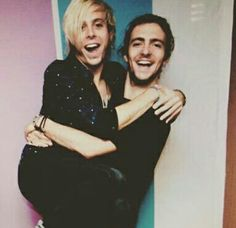 Riker and Rocky