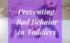 Behavior in toddlers can be unpredictable at best. Here are some tricks I have learned for preventing bad behavior in toddlers. Holiday Stress, Charts For Kids, Make It Work, Teaching Kids, Behavior, Parenting, Neon Signs, Learning, Children