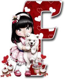 Oh my Alfabetos!: Alfabeto Tilibra Jolie cargando a un perrito. Decorative Alphabet Letters, Cute Alphabet, Alphabet Art, Alphabet And Numbers, Letter Art, Monogram Letters, Scrapbook Letters, Minnie Png, Cool Lettering
