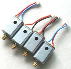 Night Lions Tech(tm) Upgraded 4pcs Motor with Brass Gear Rc Quadcopter Spare Parts for Syma X8c X8w X8g * Continue to the product at the image link.