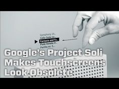 Google's New Project Let's You Control Devices Without Touching Them - YouTube