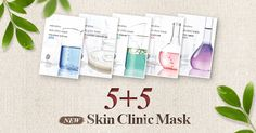 innisfreeworld: Skin Clinic Mask 5+5 Find your skin care tips here :innisfree global online shopping mall
