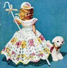 #Little #Bo #Peep #Doll #Pattern #Set from vintagecrochet.com!