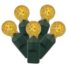 Vickerman 100 LED Light Set Color: Yellow