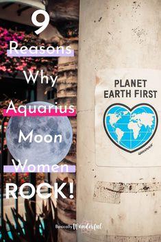 The Aquarius Moon Woman is Eccentric & Interesting | Basically Wonderful Moon In Aquarius Woman, Eccentric, Feelings