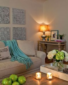 sala - ACHADOS DE DECORAÇÃO - blog de decoração