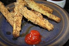 Eggplant French Fries #lowcarb