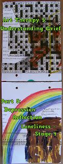 Art Therapy Understanding Grief Part 5 of 8 - Depression, Reflection & Loneliness (Phase Gravel Driveway, Phase 4, Emotional Healing, Loneliness, Art Therapy, Grief, Depression, Reflection, Pretty
