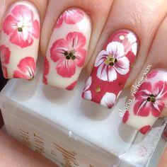 Instagram photo by liana_riches  #nail #nails #nailart Easy Nail Polish Designs, Simple Nail Art Designs, Colorful Nail Designs, Toe Nail Designs, Cute Nail Art, Beautiful Nail Art, Gorgeous Nails, Cute Nails, Pretty Nails