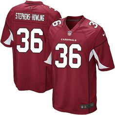 a6f36b549 ... men nike arizona cardinals 36 larod stephens howling game red team  color nfl jersey