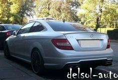 painted Mercedes-Benz AMG type Trunk Spoiler C 204 350 63 Lip C63 Amg Black Series, C Class, Benz S, Custom Paint, Mercedes Benz, Trunks, Lips, Ebay, Cutaway