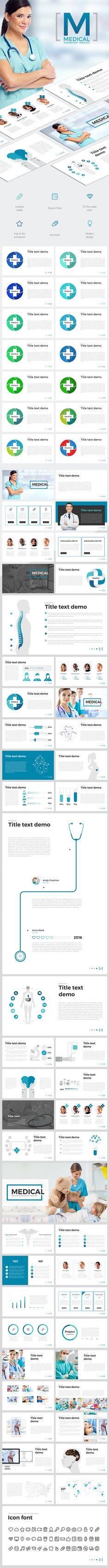 Medical PowerPoint Template. Download here: http://graphicriver.net/item/medical/15999384?ref=ksioks