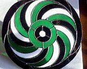 Spiral crop circle