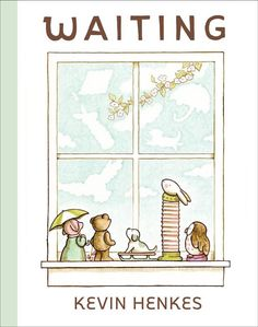 Kids learn about the art of waiting in a lovely new picture book by Kevin Henkes.