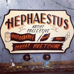 A Sign by Ken Davis | Danthonia Designs Blog