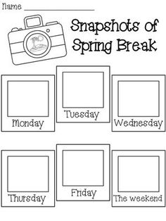 5 paragraph essay about spring break Essay: what i did on spring break by kimara so, here i am, back from vacation, feeling like i should be writing on essay on what i did on spring break.