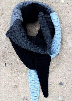 Crochet Shawl Free, Crochet Chart, Crochet Scarves, Crochet Clothes, Crochet Hooks, Knit Crochet, Daisy Chain, Drops Design, Lace Patterns