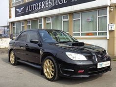 2007 Subaru Impreza 2.5 WRX STI TYPE UK HAWKEYE IN BLACK | £7,990