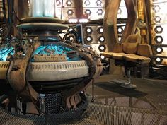 Image of TARDIS interior I miss this version of the TARDIS, and the regeneration that went with it...