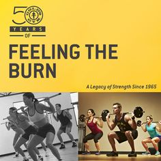 Gold's Gym where fat is burned and legacies are made. #TBT