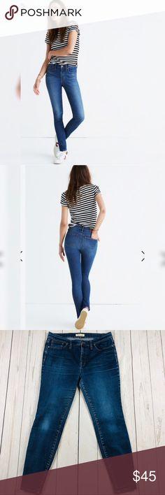 """6bc74b0b0b3e Madewell 9"""" High Riser Skinny Skinny Jeans Size 32"""