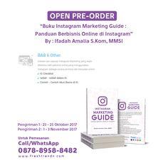 Bagi Anda yang tertarik untuk memulai bisnis di Instagram dan ingin tahu apa saja yang harus dipersiapkan, buku ini dapat memberikan panduan pada Anda dan dibahas satu-persatu untuk Anda yang ingin berbisnis secara online di Instagram.