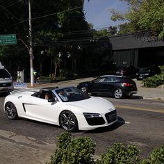 Audi - R8 V10 Spyder  #AudiR8 #R8 #AudiR8Spyder #R8Spyder #R8V10Spyder   #Audi #AudiBr #AudiBrasil #InstaAudi #AudirsPower #AudiExclusive #R8Exclusive #AudiSportGmbH  #BrasilMotorsport #BrasilMotorsportAudi