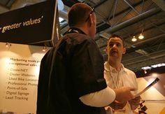 Motorcycle Trade Expo - Carl James & Gareth Ashman (MCN)