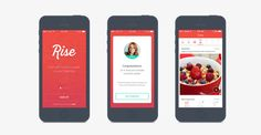 Stuff We Love: Rise App #nutrition #health #app