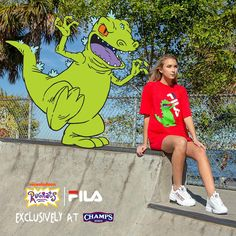 4e12bf0e735b0 FILA Champs Rugrats Collection Release Info · Fila DisruptorsBaby Cartoon Rugrats90s ...