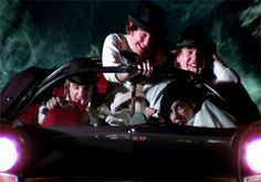 "A Clockwork Orange (1971)""The Durango 95 purred away real horrorshow - a nice, warm vibraty feeling all through your guttyworks. Soon it was trees and dark, my brothers, with real country dark. We filled around for a while with other travelers of the night, playing hogs of the road."""