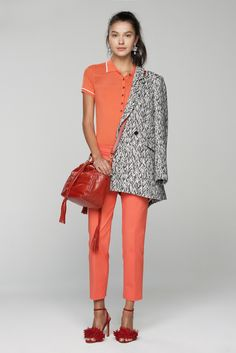 Trend: Orangey Red // Banana Republic Spring 2016 Ready-to-Wear Fashion Show