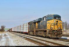 Champaign Illinois, Csx Transportation, Trains, America, Train, Usa