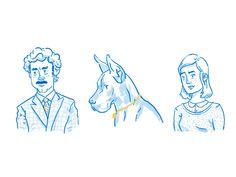 Portrait Sketches by Ryan Putnam