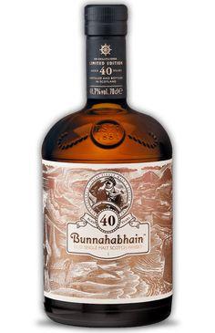 Bunnahabhain 40 year old Islay Single Malt Scotch Whisky