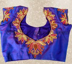 Aari Work Latest Blouse Designs | Saree Blouse Patterns