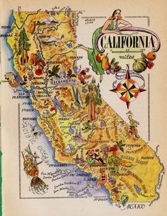California Gold Rush Map Showing Major Finds In Gold Country - Map of us gold migration
