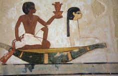 Tumba del escriba Menna : Sheikh Abd el-Qurna TT69 , Luxor