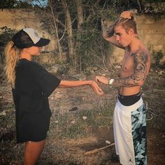 """Pin for Later: Justin Bieber and Hailey Baldwin Make Out in an Extremely Steamy Instagram Snap  """"I'll take that"""""""