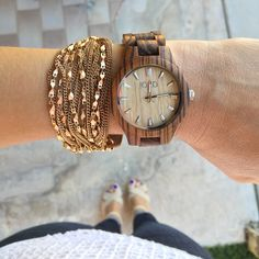 Love love love these wood watches by Jord!                                                                                                                                                                                 More