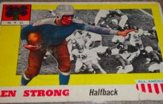 I will sell my 1955 Ken Strong topps #24 for $30.00