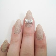 Nail Art Charm Jewelry Dazzling Round Bow AB Crystal – Daily Charme