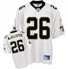 ecc3068a164 ... Reebok New Orleans Saints Deuce McAllister 26 White Authentic Jerseys  Sale Art - New Orleans Saints 28 Mark Ingram ...