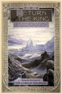 The Lord of the Rings : The Return of the King is a high fantasy novel written by J. R. R. Tolkien in 1955.