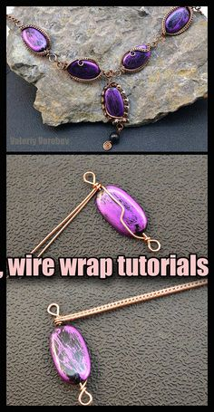 Wire Necklace, Wire Wrapped Necklace, Wire Wrapped Pendant, Pendant Necklace, Necklaces, Diy Jewelry, Handmade Jewelry, Jewellery, Wire Crafts