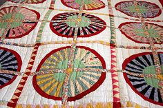my great-great-grandfather's quilt by dani@little fists, via Flickr