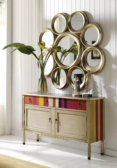 1000 images about espejos lucy on pinterest mirror for Adornos decorativos modernos